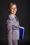 Woman in formal dress Royalty Free Stock Images