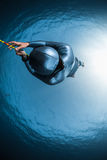 Woman free diver Royalty Free Stock Images