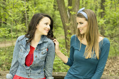 Woman friends Royalty Free Stock Photos