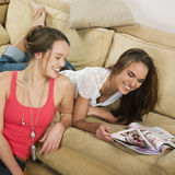 Woman friendship Stock Images