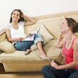 Woman friendship Stock Photo