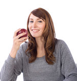 Woman Fruit Stock Images