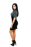 Woman in funky dress Stock Photos