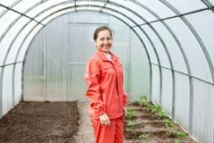 Woman gardener Royalty Free Stock Photography