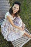 Woman gardening.   Stock Photos