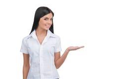 Woman gesturing. Stock Photos