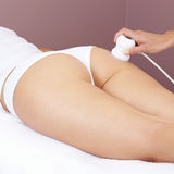 Woman getting electrical massage Royalty Free Stock Images