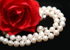 Woman gift Royalty Free Stock Images