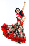 Woman in gipsy costume Royalty Free Stock Photos