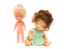 Woman and girl dolls Royalty Free Stock Photos