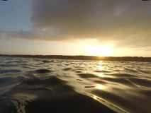 Openwater sunrise openwater view telaviv israel royalty free stock photo