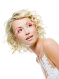 Woman with glamour makeup Stock Photo