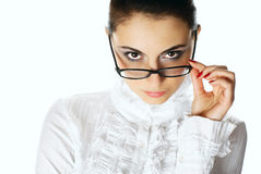 Woman with glasses. Stock Image