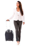 Woman going on a business trip Royalty Free Stock Photo
