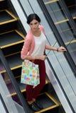 Woman going shopping Stock Photos