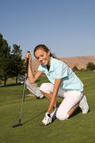 Woman Golfer Stock Photos