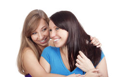 Woman gossiping Royalty Free Stock Photography