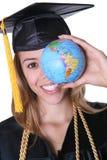 Woman Graduate Royalty Free Stock Photography