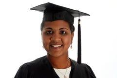 Woman Graduating Royalty Free Stock Photography