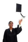 Woman Graduating Stock Image