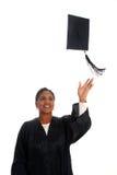 Woman Graduating Stock Image