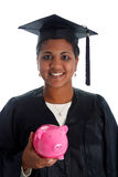 Woman Graduating Royalty Free Stock Photo