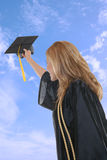 Woman Graduation Stock Photography