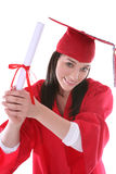 Woman at Graduation Stock Image