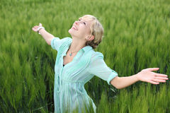 Woman in Greenfield Stock Photos