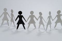 Woman group I Royalty Free Stock Photography