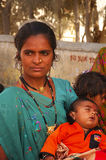 Woman in Gujarat Royalty Free Stock Images