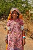 Woman in Gujarat Royalty Free Stock Photo