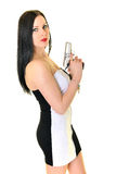 Woman With Gun Royalty Free Stock Photography