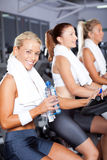 Woman in gym Stock Photos