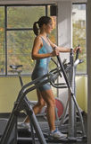 Woman at the gym Royalty Free Stock Photos