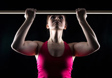 Woman in the gym Royalty Free Stock Photo