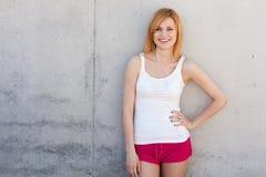 Woman in gym clothes Stock Photos