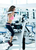 Woman at the gym Stock Photos
