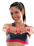 Woman gym Royalty Free Stock Images