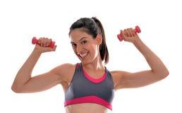 Woman gym royalty free stock photo