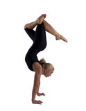 The woman the gymnast Royalty Free Stock Photo