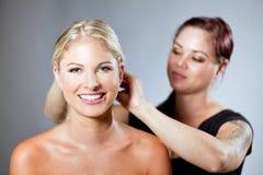 Woman hair Stock Image