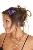 Woman hair skeleton Stock Image