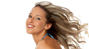 Woman hair style Stock Photos