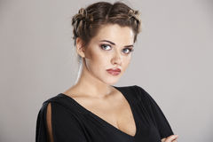 Woman hair style Stock Photography
