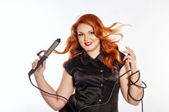 Woman hairdresser Royalty Free Stock Photography