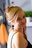 Woman-hairstyle Stock Photos