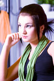 Woman-hairstyle Royalty Free Stock Photography