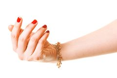 Woman hand Royalty Free Stock Images