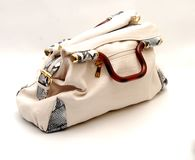 Woman hand bag Royalty Free Stock Images